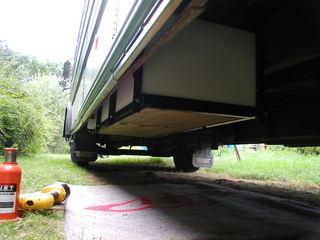School Bus Conversion Plumbing