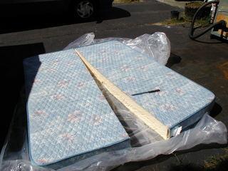 Cutting a mattress in half   School Bus Conversion Resources